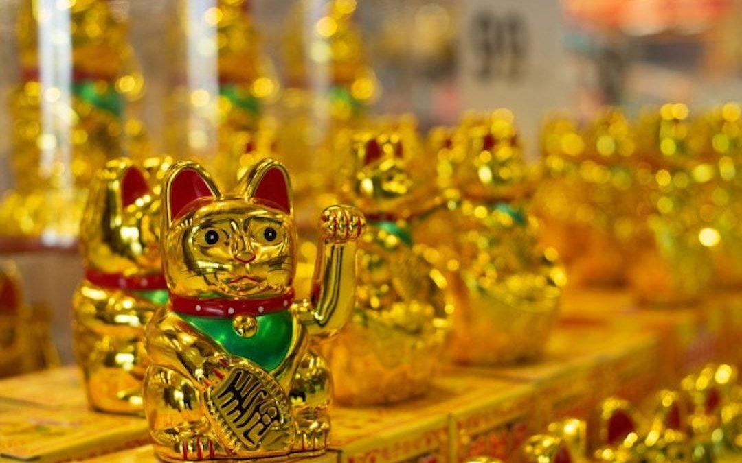 Gato chino lenda
